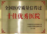 晋城星皓男科医院荣誉2